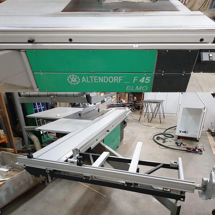 Fonkelnieuw Formaatzaag Altendorf F45 ELMO 3 (komt nog binnen) - Rando Technic IV-25